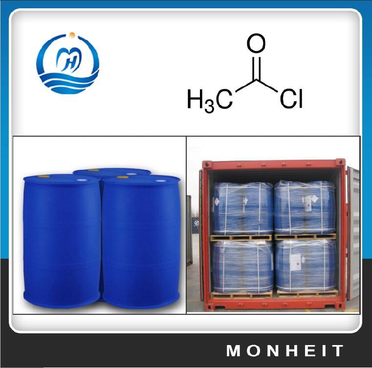 High Purity Acetyl Chloride CAS 75-36-5 C2H3CIO