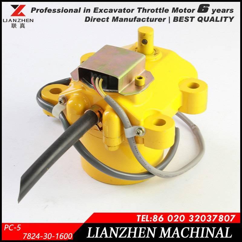 Komatsu PC-5 stepper motor engine motor throttle motor 7824-30-1600 for Komatsu excavator electric p