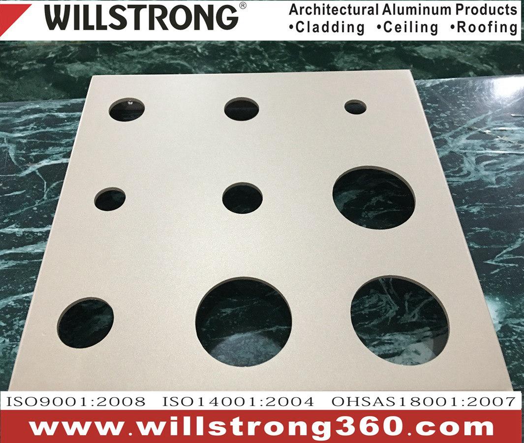Customized Curtain Wall Aluminum Veneer Single Panel