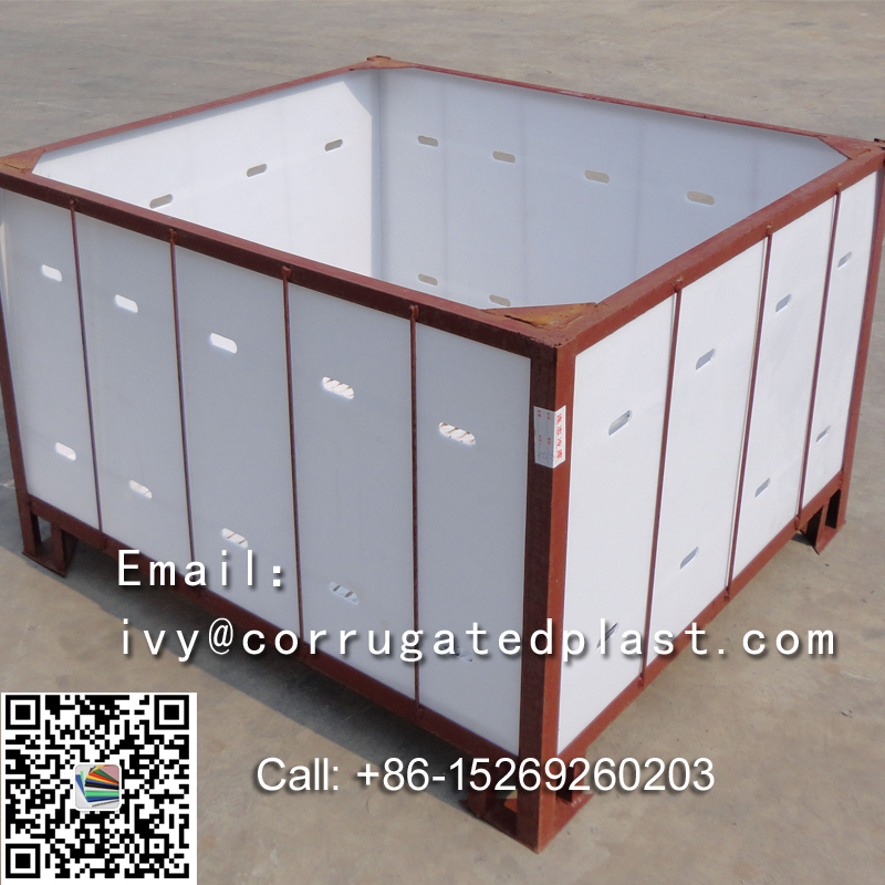 Fruit and vegetable crates,corrugated plastic box