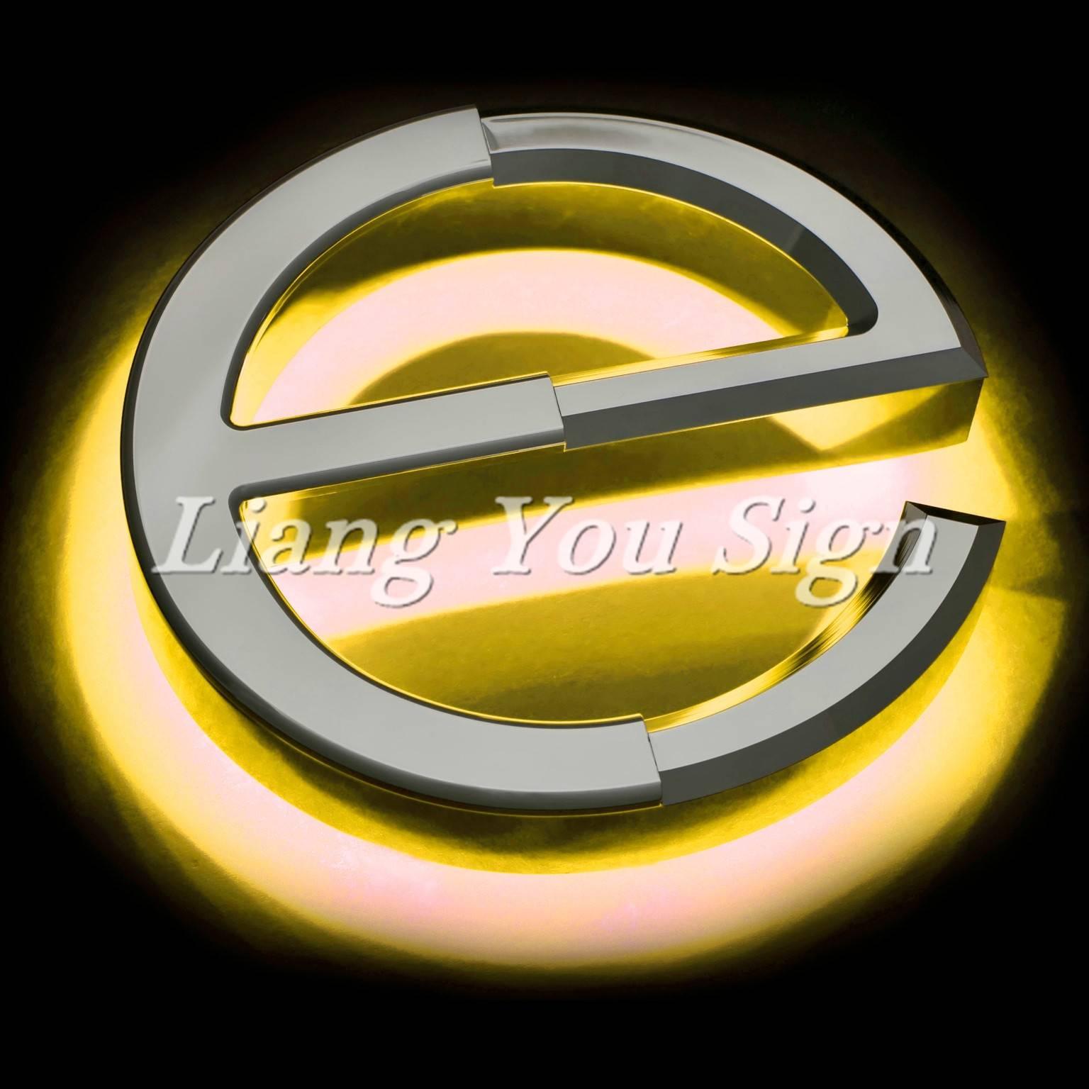 Best Professional Exquisite Led Backlit Signs shop sign