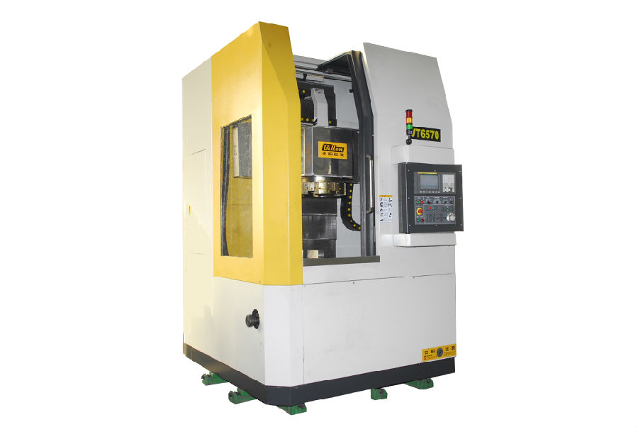 Vertical and inverted vertical combined CNC machine tool