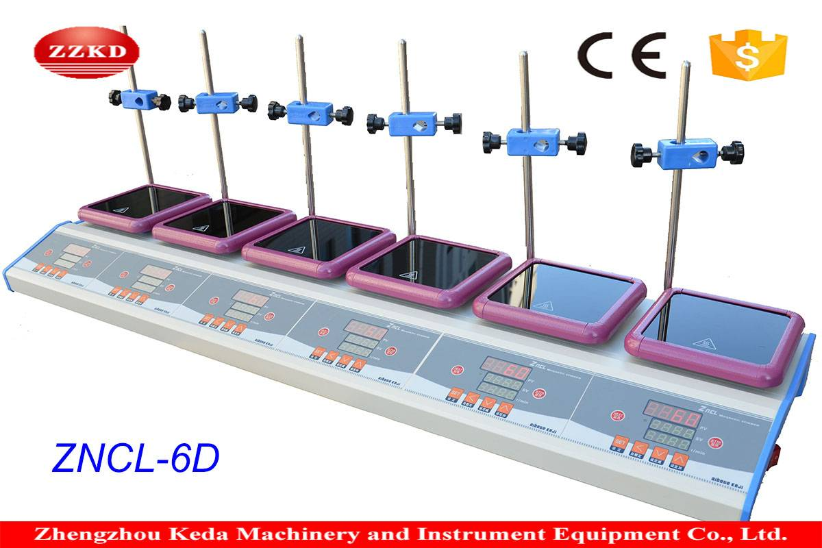 2016 New Industrial Stainless Steel Magnetic Stirrer