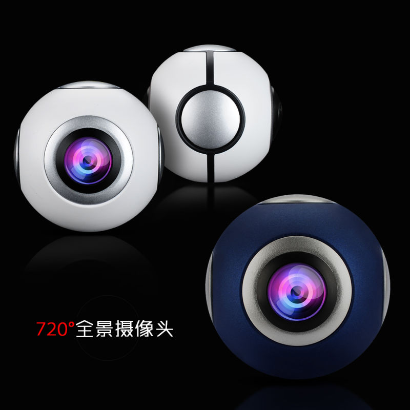 2017 New 720 degree Panorama Camera Stylish Pano Live View Android Mobile Control Panoramic VR Camer