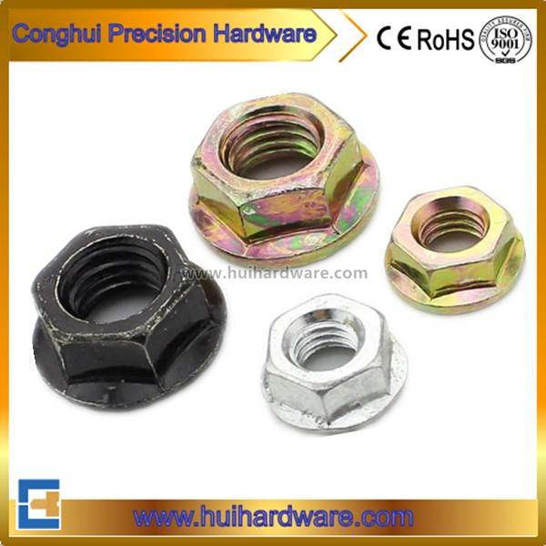 Carbon Steel Hex Flange Nuts