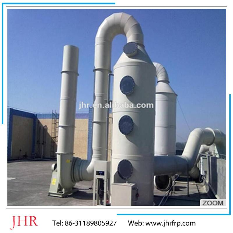 FRP purification tower  / waste gas absorption and purifier tower