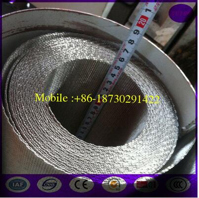 97mm 127mm 150mm width Stainless Steel Reverse Dutch Weaves Filter Ribbon Screen strips