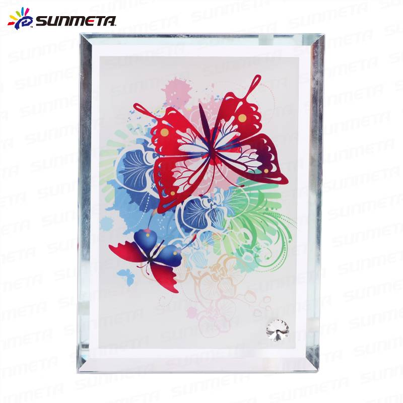 Sunmeta factory directly high quality blank sublimation glass photo frame