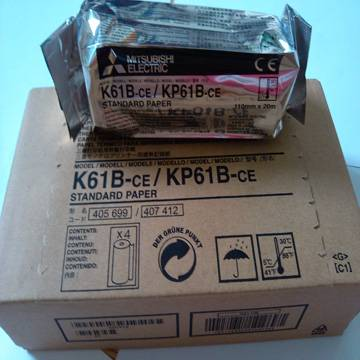 k61b ultrasound thermal paper for mitsubishi video printer used in hospital