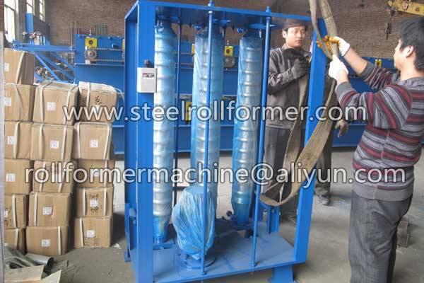 metal sheet curved machine