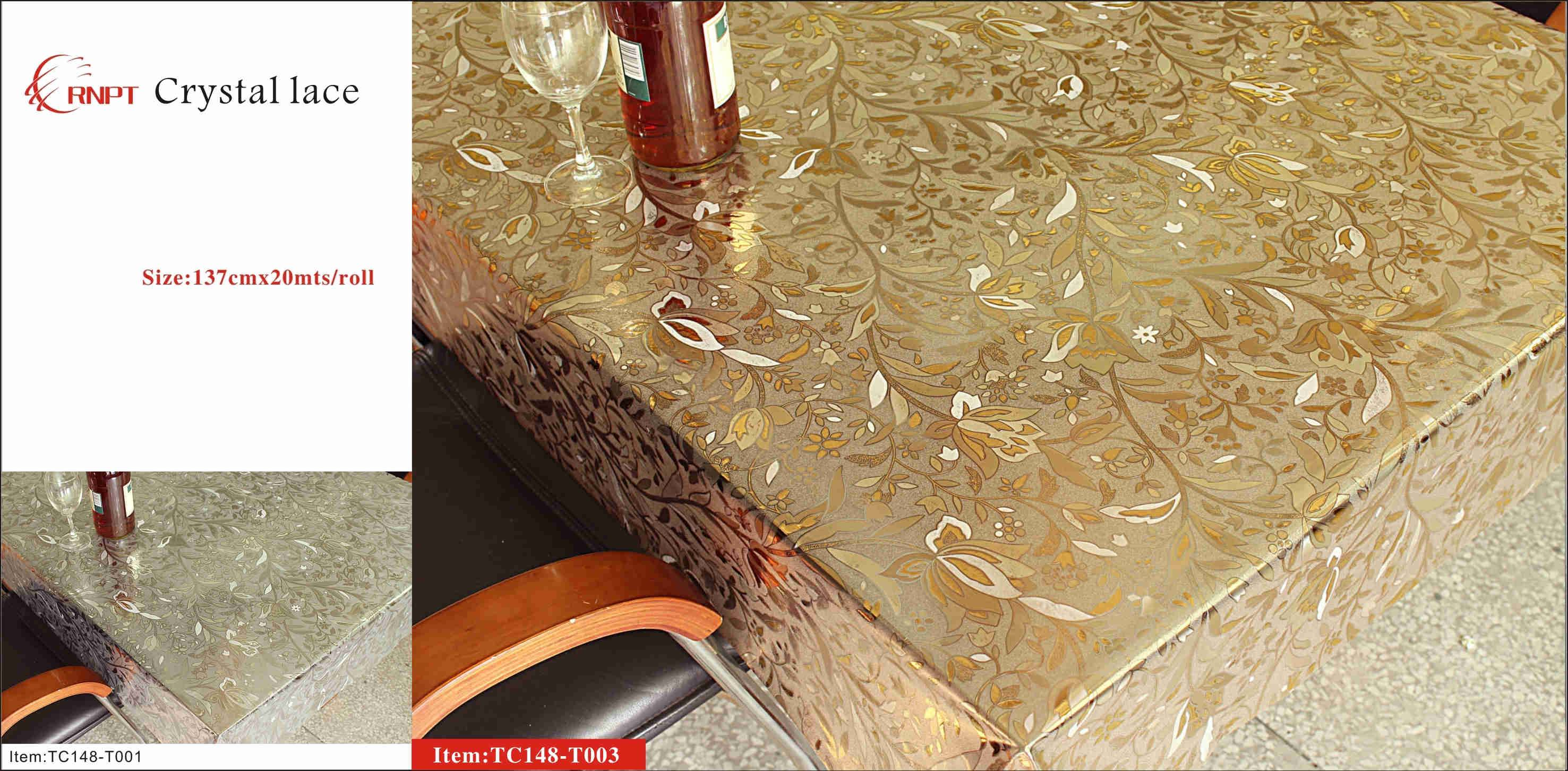 pvc crystal table sheet