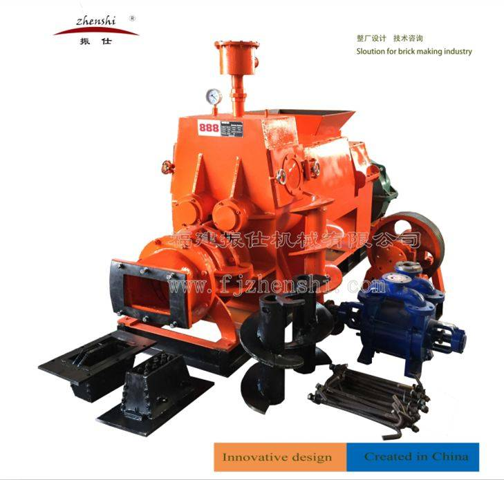JKR Series -Energy Saving Vacuum Extruder/Brick Machine