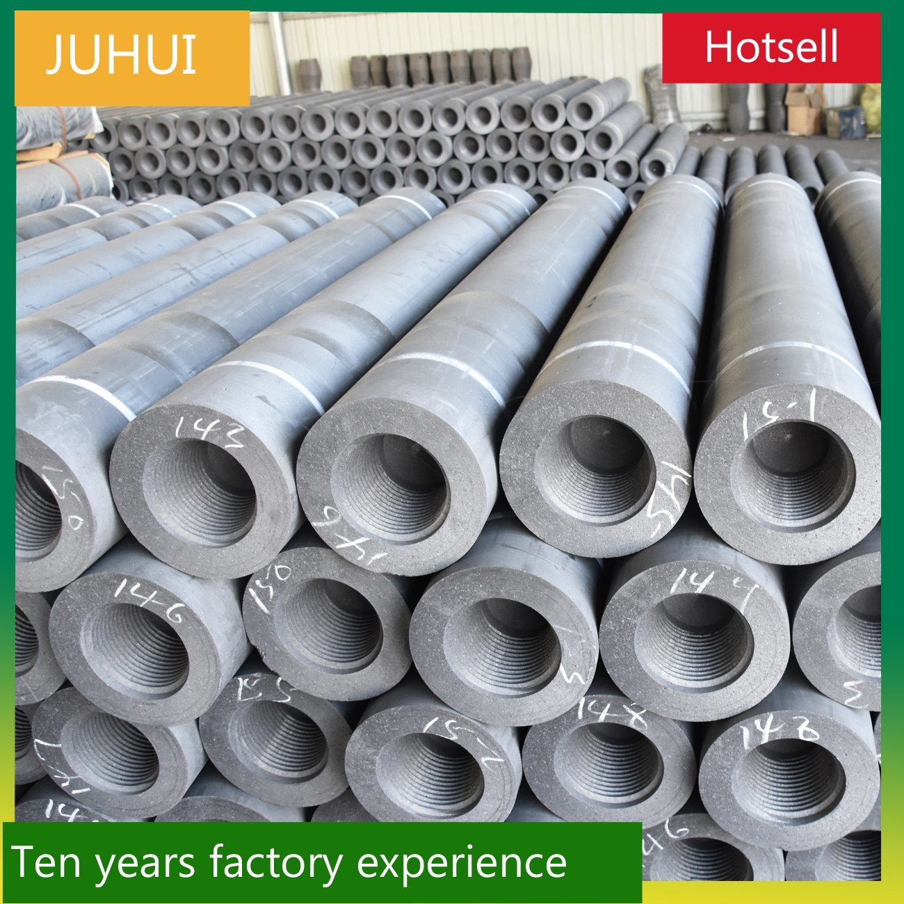 UHP450 Graphite Carbon Electrodes for Steel-Making for Eaf and Laf