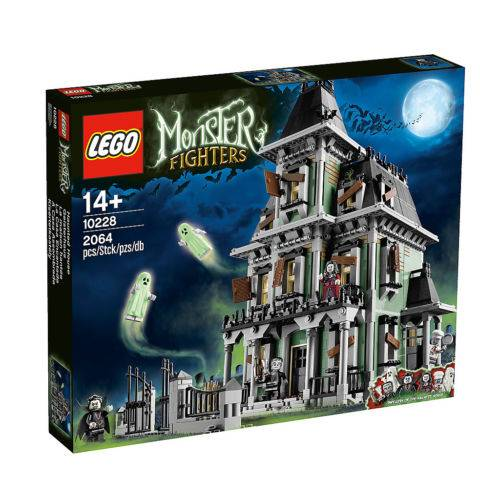 Original Lego 10228 Monster Fighters Haunted House