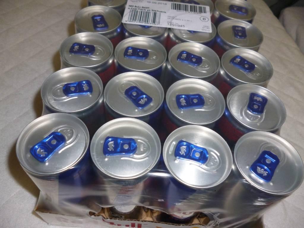 Original Thai and Austria Red Bull Krating Daeng Energy Drink 250 ml