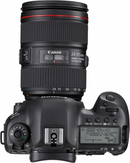 Canon - EOS 5D Mark IV DSLR Camera with 24-105mm f/4L IS II USM Lens