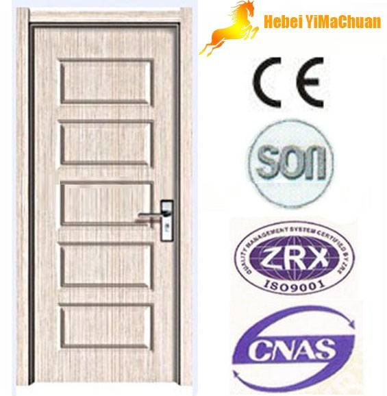 PVC interior door with cheap price and high quality