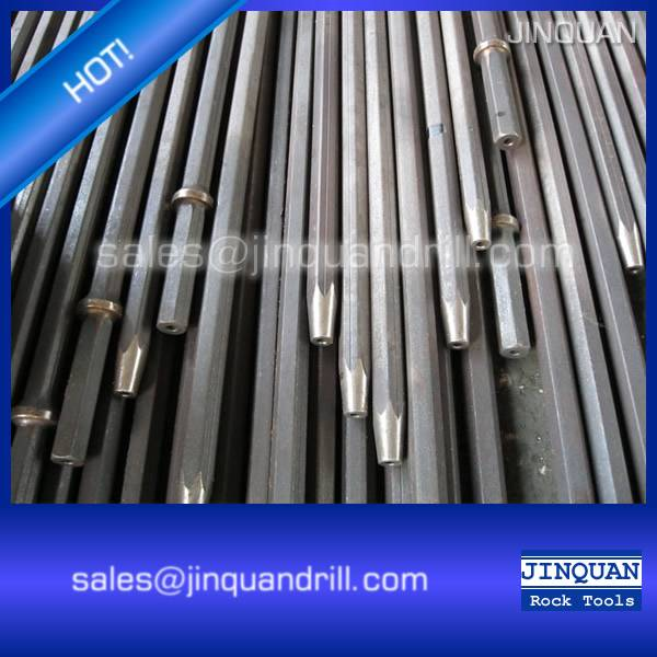 Tapered drill rods/tapered rock drilling tools