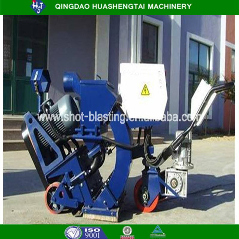 Quality assurance floor shot blasting machine HST series