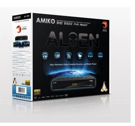 Amiko SHD-8900 Alien High Definition Digital Satellite Receiver