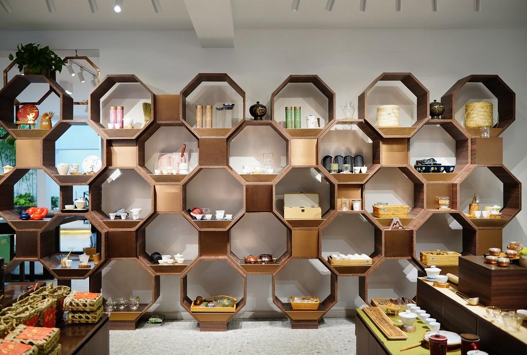 Interior Design for Tea Shop ( Yunan )