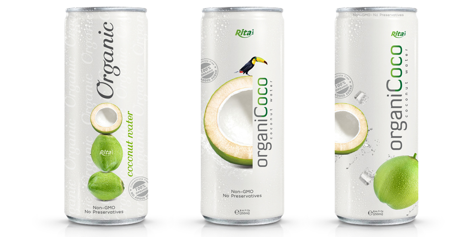 Wholesale Design Organic Coconut water 250ml