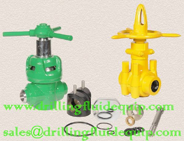BETTER MUDKING DEMCO Style MUD GATE VALVE AND VALVE GATE