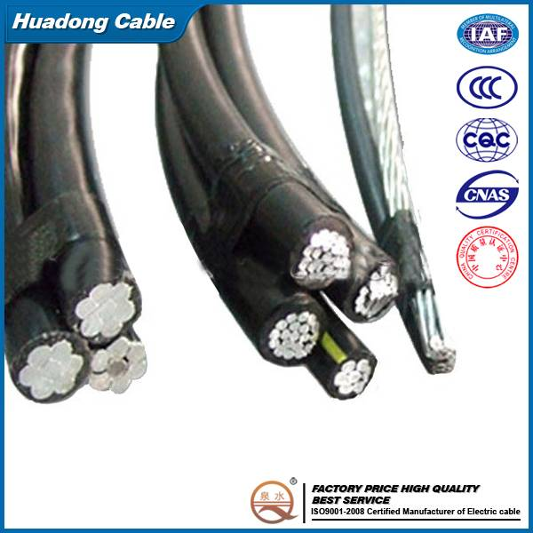 Professional manufactureXLPE/PE insulation 2x16mm2 abc cable