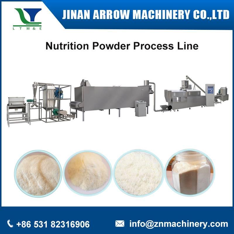 Nutrition powder process line