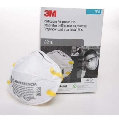 3M 8210 N95 Particualte Respirator , Face Masks