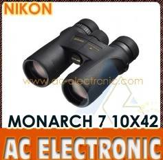 Nikon-Monarch 7 10X42 Binoculars-Black