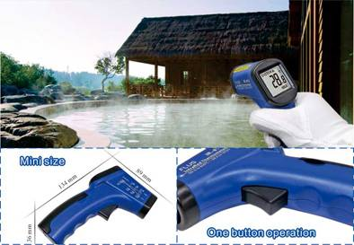 New Non-Contact LCD Digital IR Laser Infrared Temperature Thermometer Gun IR-810