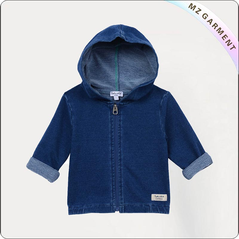 Zip-Front Hoodie Jacket