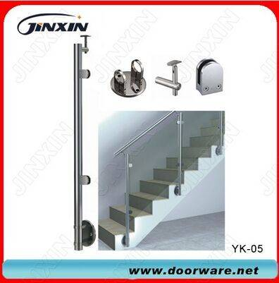 Stainless Steel Glass Handrail Balustrade(YK-05)