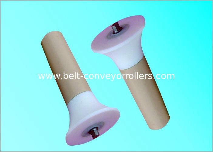 Small Power Consumption Plastic Conveyor Rollers With Customized Sizes