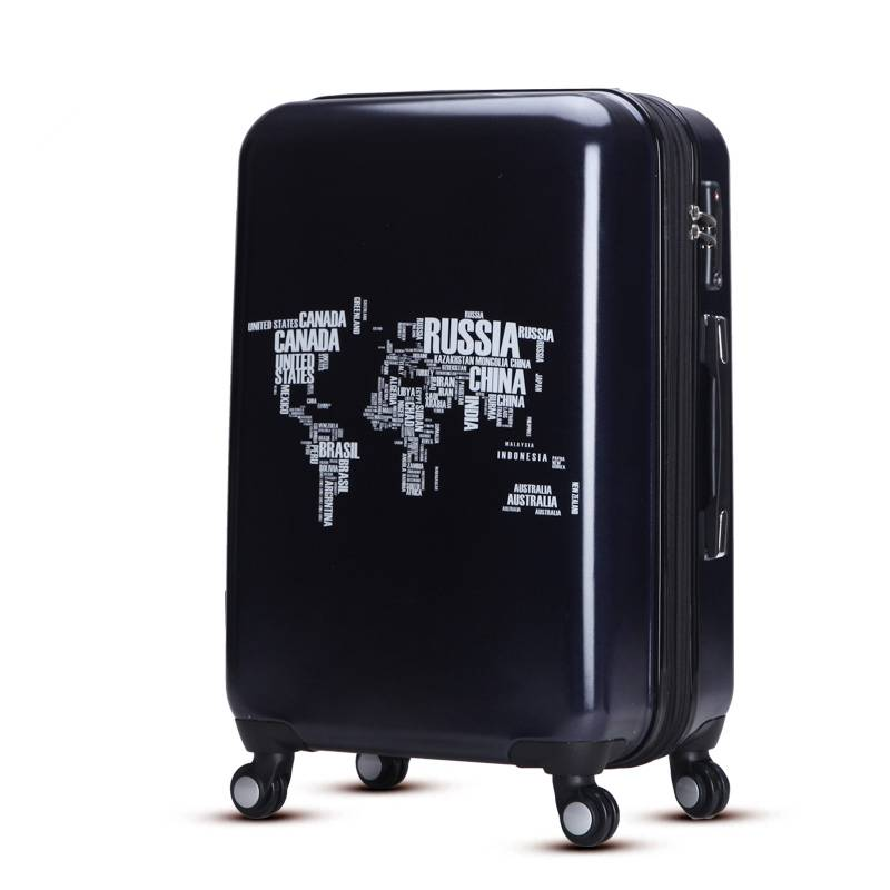 ABS PC trolley suitcase set