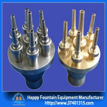 Water Fountain Equipments Center On The Straight Nozzle Fountain