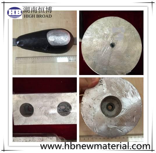 Magnesium Hull / condenser anodes