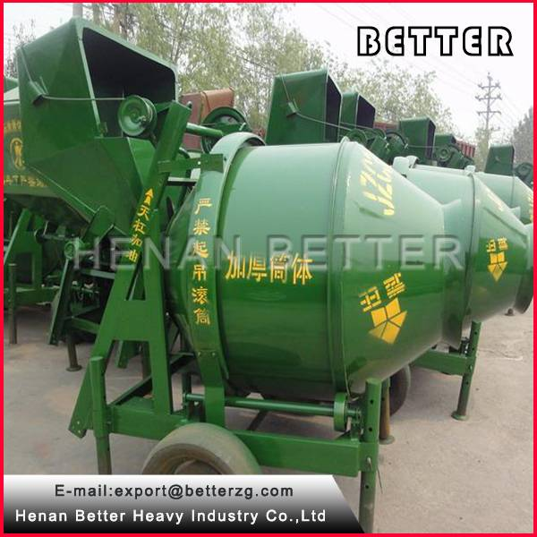 Hot Sale JZC350 Electric Motor Concrete Mixer (Made in Henan, China)