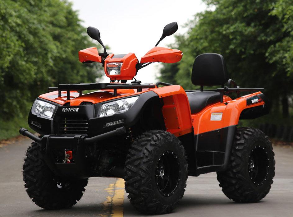 GW 500 cc ATV with T3 EEC certificated