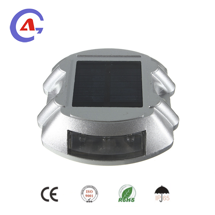 double sides solar led road stud reflector
