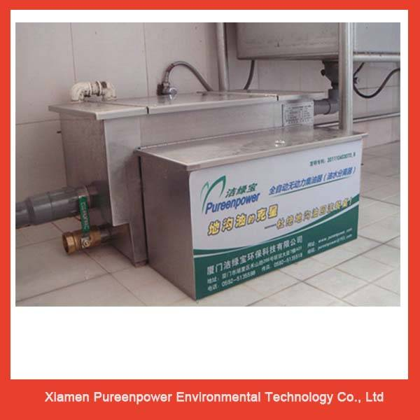 Stainless Steel Automatic Grease Trap for Commercial Kitchens