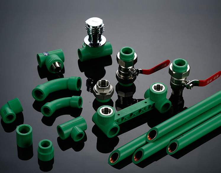 Russia Market Plastic Water Tubes PP-R Pipe and Fittings