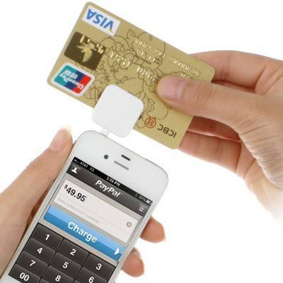 3.5mm Headphone Jack Mini E-Bank Card Magnetic Credit Card Reader Works Support for Apple iOS 7.1/ f
