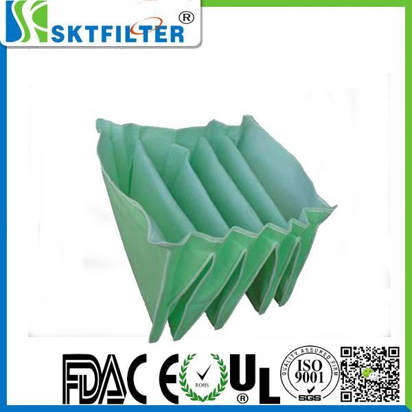 Medium efficiency anti-static pocket filter