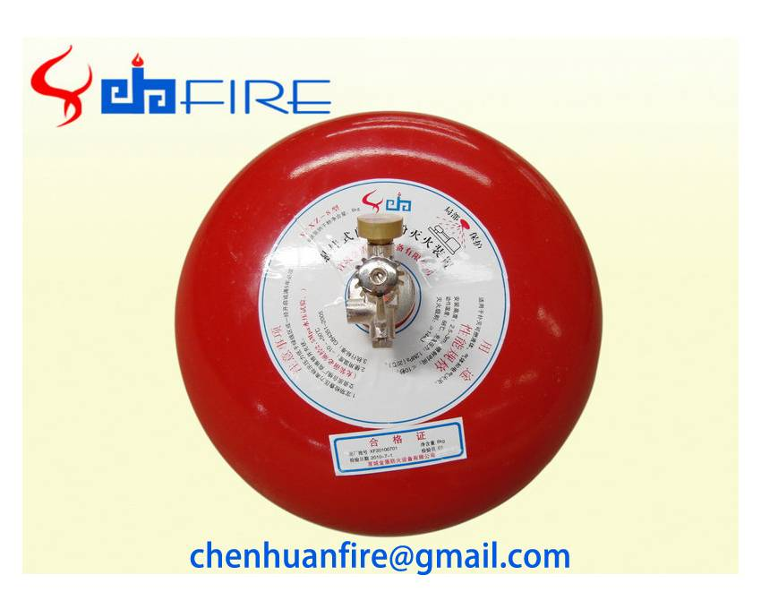 4kg-12kg automatic ABC fire extinguisher