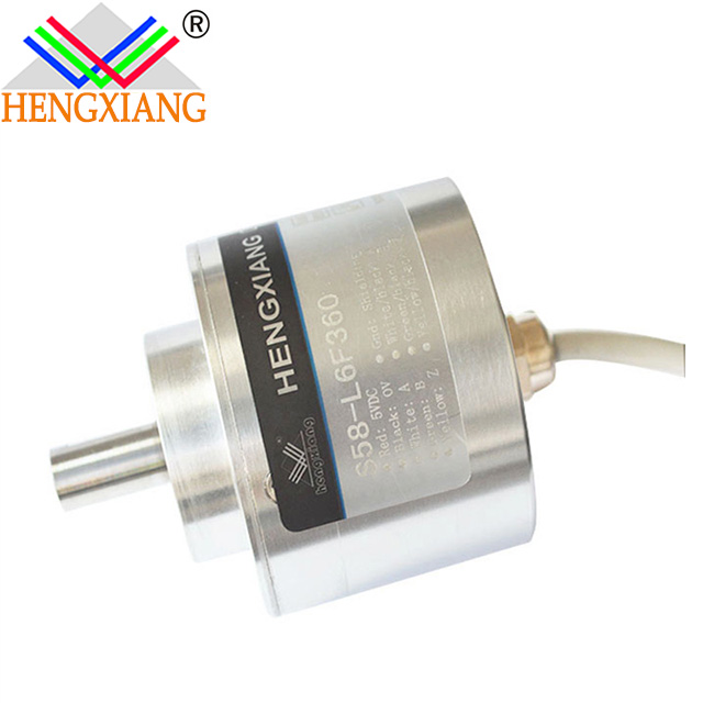 Hengxiang S58 Cnc Machine Encoder With Outer Diameter 58mm Solid Shaft 10mm The Weight Is 420g