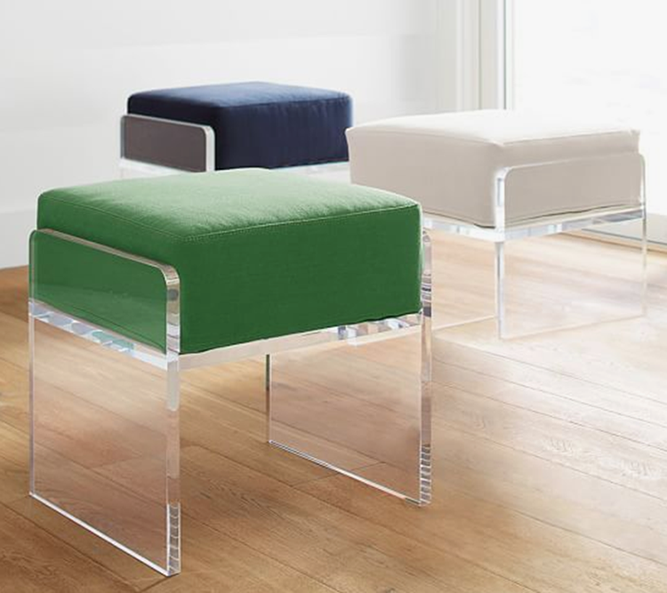 Custom luxury lucite living room furniture cheap clear acrylic chair