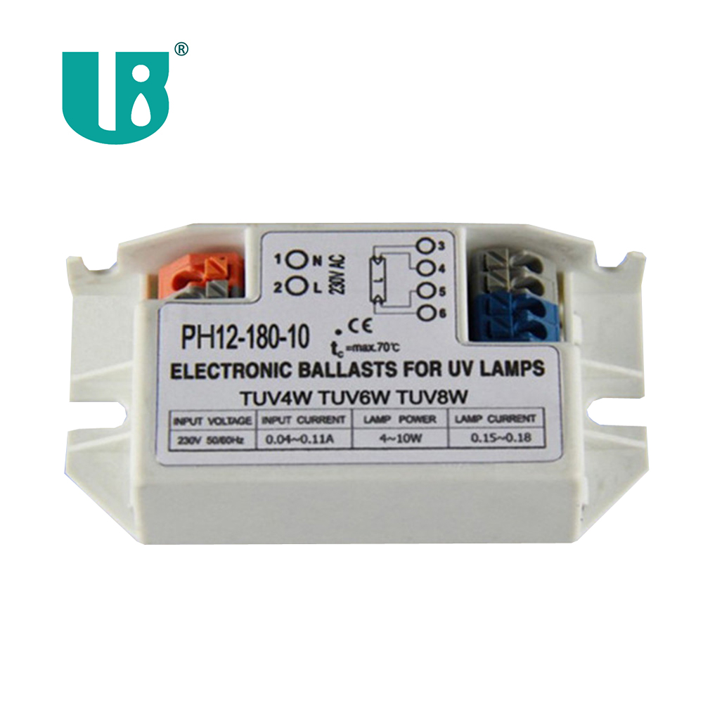 uv lamp electronic ballast 4~11w CE approved