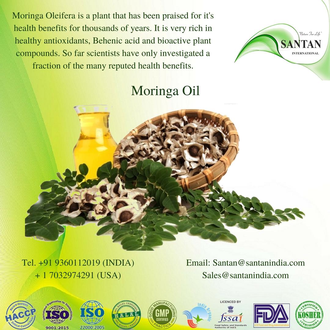 Organic Moringa Oil for skin